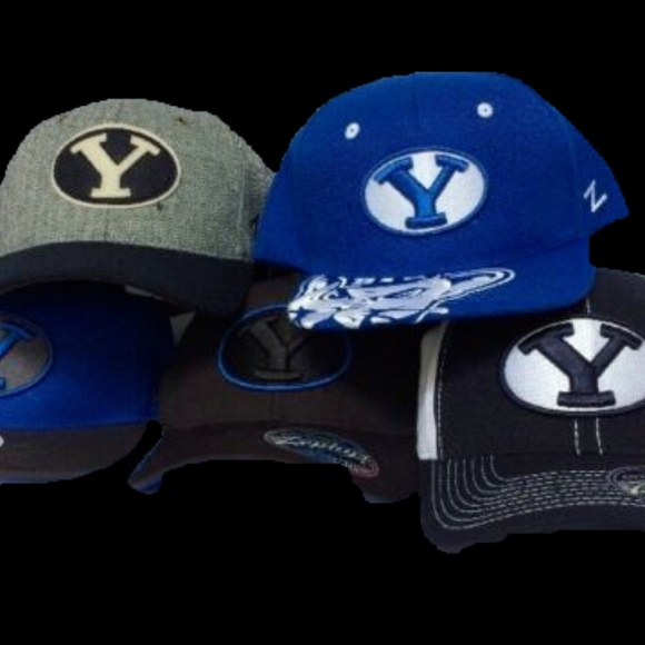 best website 7559e 4f4b8 BYU Cougars HAT LOT FITTED SNAPBACK Zephyr
